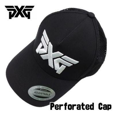【PXG正規品】 PERFORATED CAP ブラック